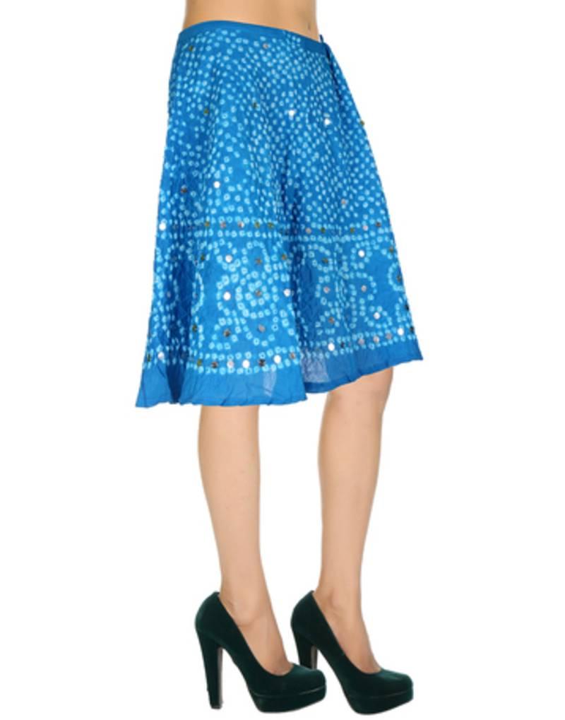 buy sky blue cotton skirts