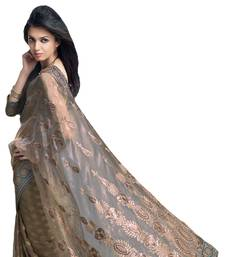 Buy Designer Indian Sari SimSim 7014 A tissue-saree online