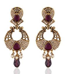 Buy Marvellous Gold Plated Jewellery Earrings For Women danglers-drop online