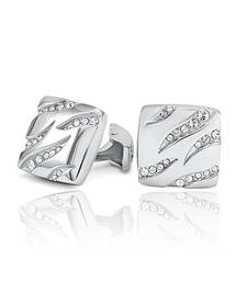 Buy Mahi Trendy Liana Cufflinks with Swarovski Elements Other online