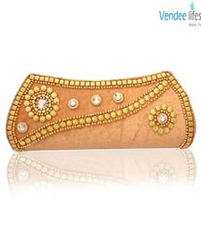 Buy Vendee Lifestyle Velvet Clutch for Trendy Women (7327) clutch online