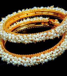 Buy REAL PEARLS SEED PEARLS BANGLES FROM HYDERABAD(SRIDEVI BANGLE Other online