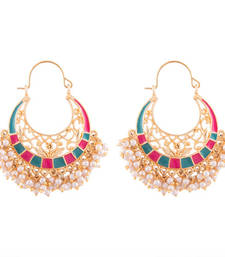 Buy traditional chand bali chandelier earrings hoop online