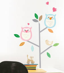 Buy Cute Loving Birds On Tree wall-decal online, Buy wall-decals online