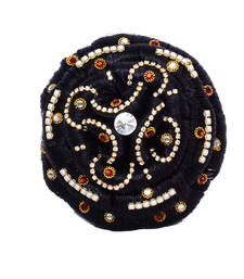 Buy Black Colour Stone Hair Set hair-accessory online