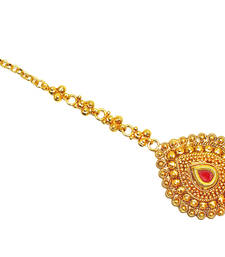 Buy Gold Plated Traditional & Beautiful Maang Tikka maang-tikka online