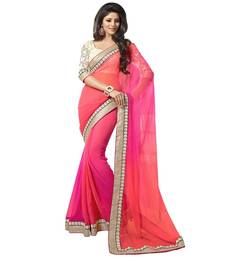 Buy Indian Traditional Designer Partywear saree georgette-saree online