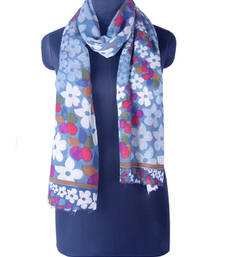 Buy Hand-made multicolor with Dark Gray Coloured 100% Merino wool Shawl shawl online