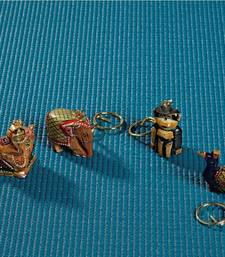 Buy Intricately carved key chain set other-home-accessory online