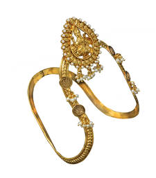 Buy Traditional & Antique Temple Bajuband or Vanki one Piece for Bridal women Jewellery Bajuband bajuband online