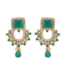 Buy Strike a statement whereever you go with  Ethnic Festive Fashion Earrings danglers-drop online