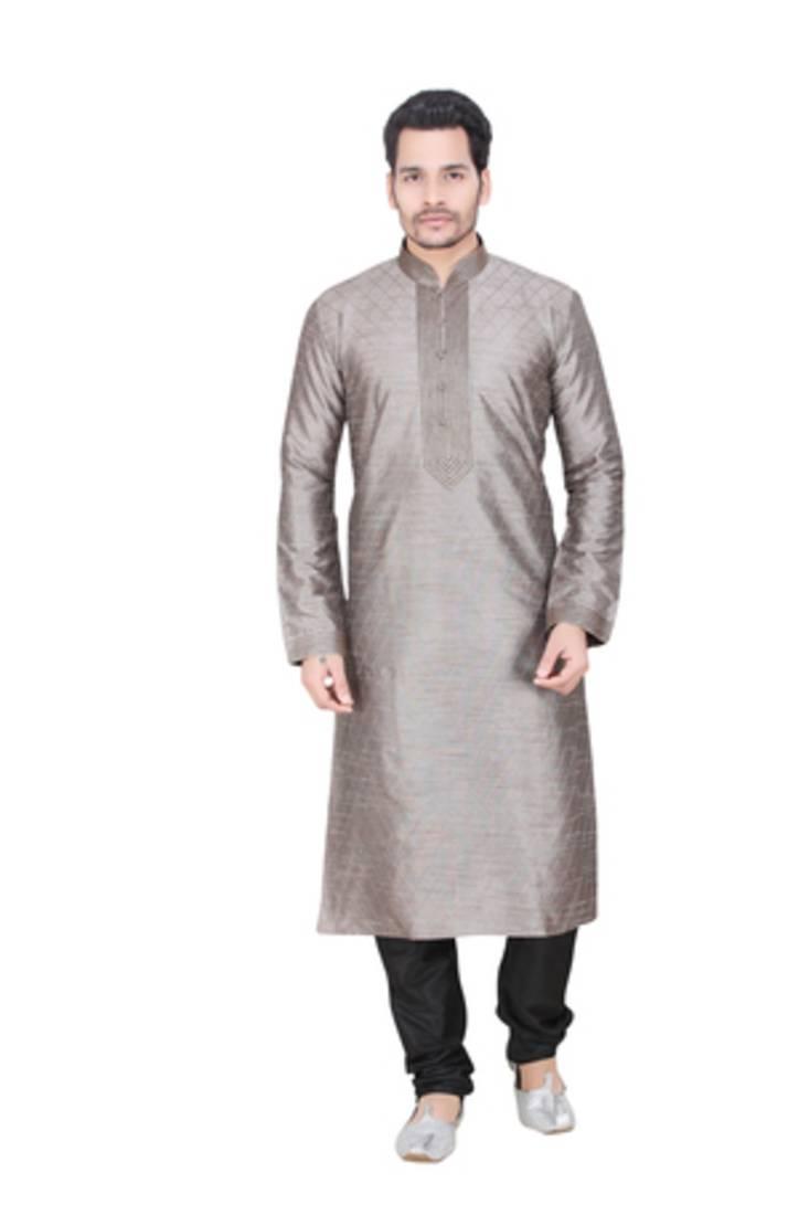 Buy Grey Kurta Pyjama Sets Online