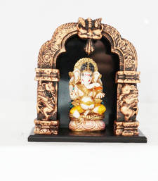 Buy Temple ganesha resin material housewarming-gift online