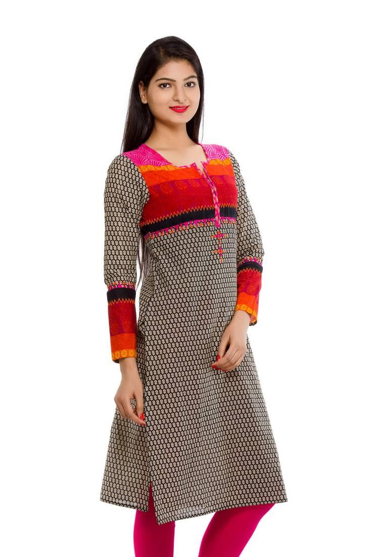 Buy Straight Fit Stylish Kurta For Women Online