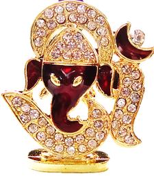 Buy Sparkling OM Ganesha Idol ganesh-chaturthi-gift online