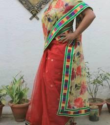 Buy banarasi net chiffon saree net-saree online