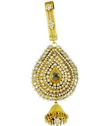 Buy Ethnic Golden Juda in clear Shade key-chain online