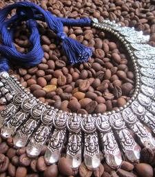 Buy Oxidized Thread necklaces Necklace online