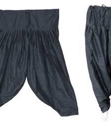 Buy Patiala Salwar Bottom Pants - Loose Pants - Semi Raw Silk Pants - Pleated Pants 902768 salwars-and-churidar online