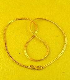 "Buy gold platted chain size-18""inch  key-chain online"