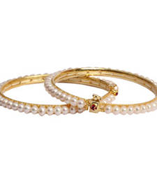 Buy PEARL BANGLE bangles-and-bracelet online