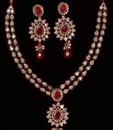 Buy Design no. 10b.2021....Rs. 3250 necklace-set online