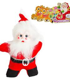Buy Charming Santa Claus n Fancy Greeting Card Hamper 110 christmas-decoration online