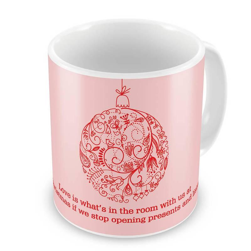 Buy Printed Design Cute Pink Coffee Mug Online