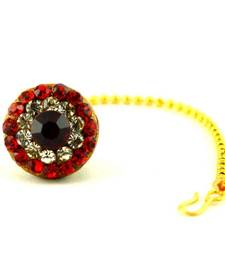 Buy rajasthani lakh stone rakhari maang-tikka online