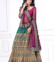 Buy Hypnotex Cotton Blue Color Designer Lengha Choli XLNC8005C lehenga online