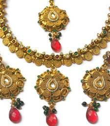 Buy Jodha Polki necklace necklace-set online