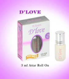 Buy AL NUAIM D'LOVE 3ML ROLL ON gifts-for-him online