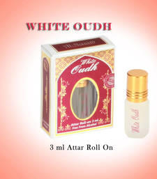 Buy AL NUAIM WHITE OUDH 3ML ROLL ON  gifts-for-him online