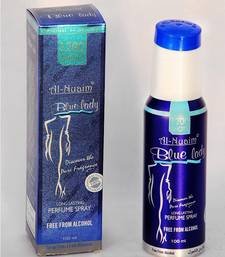 Buy AL NUAIM BLUE LADY 100ML1200 SHOTS PERFUME gifts-for-him online