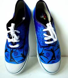 Buy Funky Feet-Dance makes me happiiee-blue Shoe online