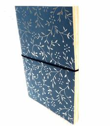 Buy handmade gray diary office-opening-gift online