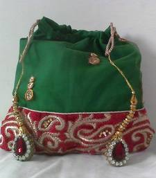 Buy HANDMADE POTLI BROCADE_57 potli-bag online