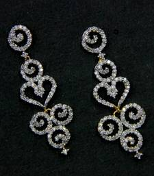 Buy BEAUTIFUL CZ STONE STUDDED HANGINGS Other online