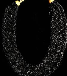 Buy Black Neck-Piece Necklace online
