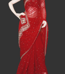 Buy Festive saree chiffon-saree online