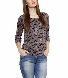 Buy Fusion Mela WOMEN'S CASUAL RAYON TOP party-top online