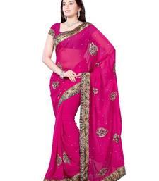 Buy Bewitching Designer Saree by DIVA FASHION- Surat georgette-saree online
