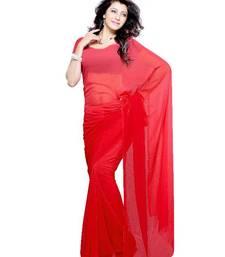 Buy Angelic Festival/Party Wear Designer Saree by DIVA FASHION- Surat georgette-saree online