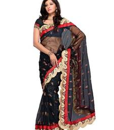 Buy Aristocratic Festival/Party Wear Designer Saree by DIVA FASHION-Surat net-saree online
