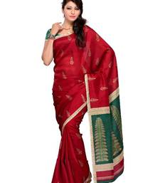 Buy Exhilarating Festival/Party Wear Designer Saree by DIVA FASHION- Surat art-silk-saree online