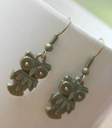 Buy Owl earring danglers-drop online