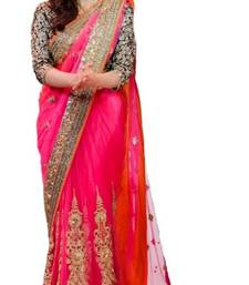 Buy Pink Sarees diwali-discount-offer online