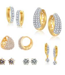 Buy Combo of 6 Pairs of Earrings combo-earring online