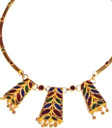Buy Handmade Indian Assamese Jewellery Dhansira necklace-set online