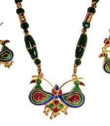 Buy Indian Assamese Jewellery Lokaparo necklace-set online